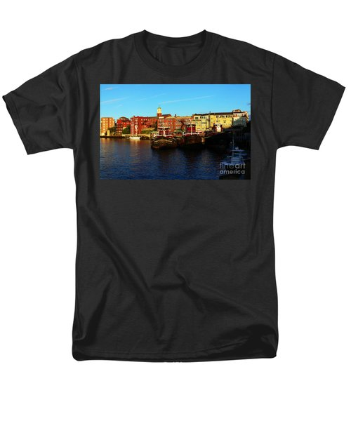 Portsmouth In The Afternoon Men's T-Shirt  (Regular Fit) by Kevin Fortier