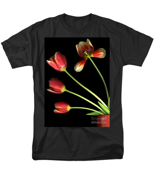 Pot Of Tulips Men's T-Shirt  (Regular Fit) by Christian Slanec