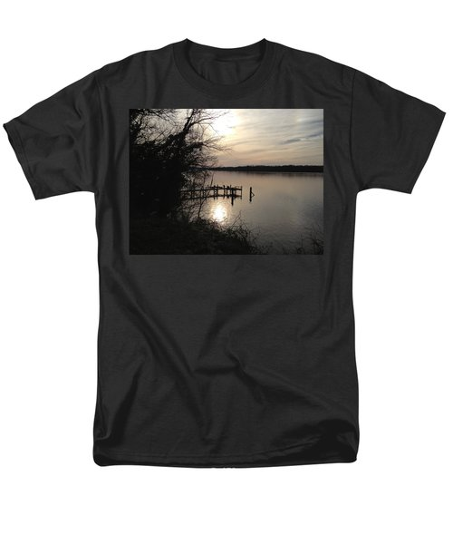 Potomac Reflective Men's T-Shirt  (Regular Fit) by Charles Kraus