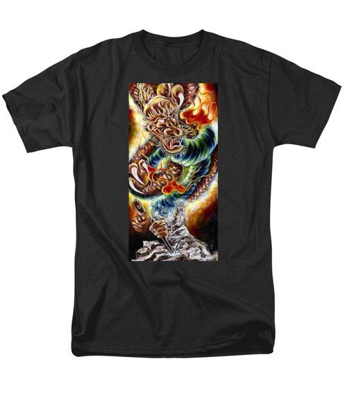 Men's T-Shirt  (Regular Fit) featuring the painting Power Of Spirit by Hiroko Sakai