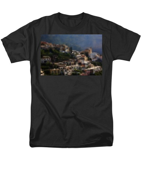 Praiano Amalfi Coast Men's T-Shirt  (Regular Fit) by Hugh Smith