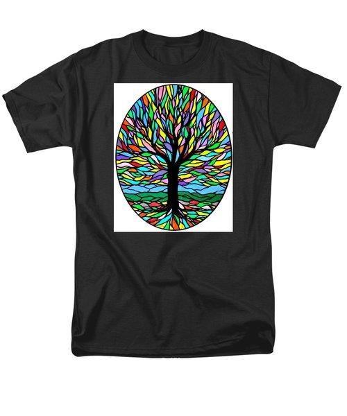 Prayer Tree Men's T-Shirt  (Regular Fit)