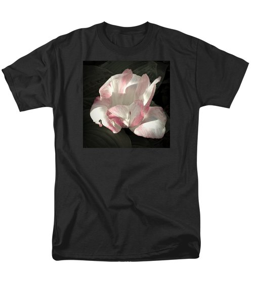 Men's T-Shirt  (Regular Fit) featuring the photograph Pretty In Pink by Photographic Arts And Design Studio