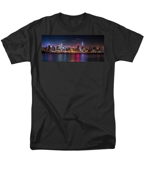 Men's T-Shirt  (Regular Fit) featuring the photograph Pride Weekend Panorama by Mihai Andritoiu