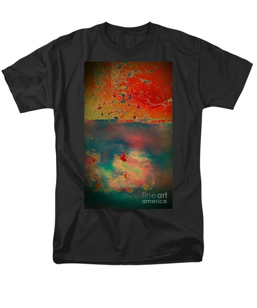 Men's T-Shirt  (Regular Fit) featuring the painting Primordial by Jacqueline McReynolds