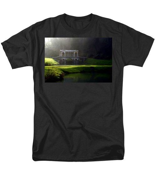Prior Park Bath Men's T-Shirt  (Regular Fit) by Ron Harpham
