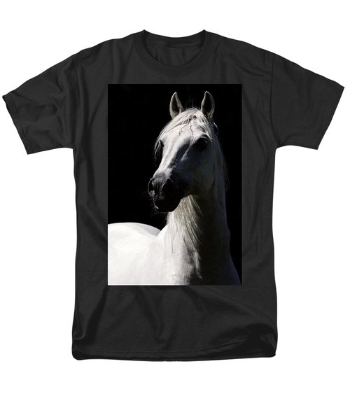 Proud Stallion Men's T-Shirt  (Regular Fit) by Wes and Dotty Weber
