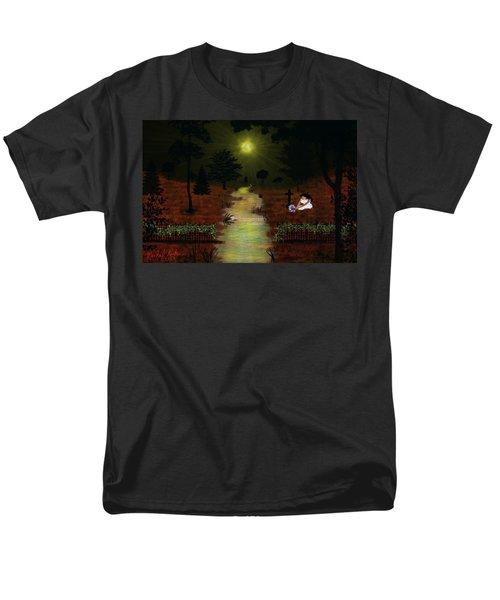 Psalm 23  Men's T-Shirt  (Regular Fit) by Michael Rucker