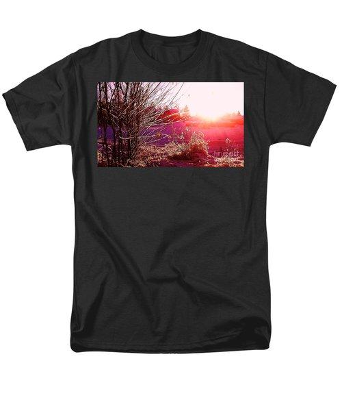 Psychedelic Winter   Men's T-Shirt  (Regular Fit) by Martin Howard