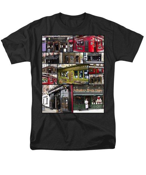Pubs Of Dublin Men's T-Shirt  (Regular Fit) by David Smith
