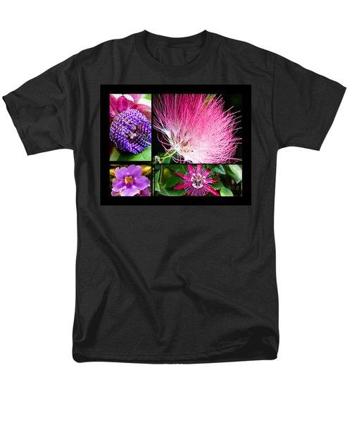 Purple Bouquet Men's T-Shirt  (Regular Fit) by Melinda Ledsome