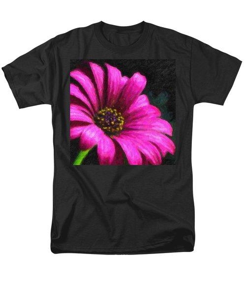 Purple Men's T-Shirt  (Regular Fit) by Chuck Mountain