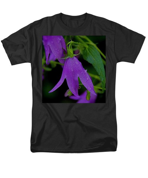 Purple Men's T-Shirt  (Regular Fit) by Daniel Sheldon