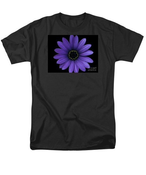 Men's T-Shirt  (Regular Fit) featuring the photograph Purple Peace by Janice Westerberg