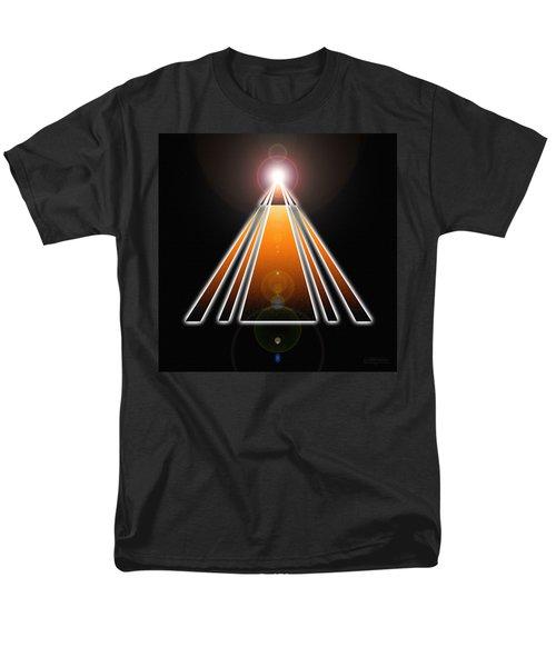 Pyramid Of Light Men's T-Shirt  (Regular Fit)