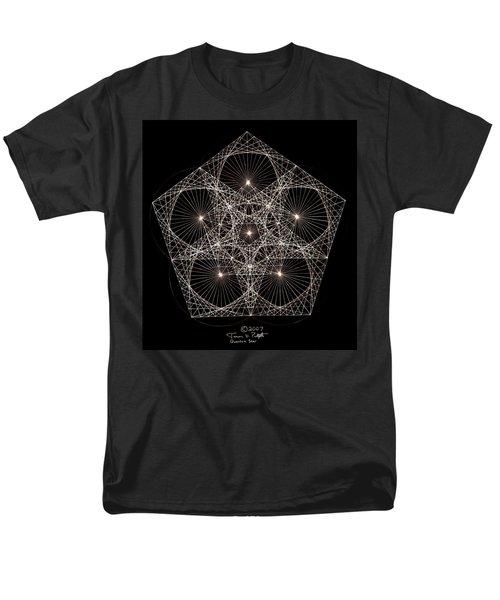 Quantum Star II Men's T-Shirt  (Regular Fit) by Jason Padgett