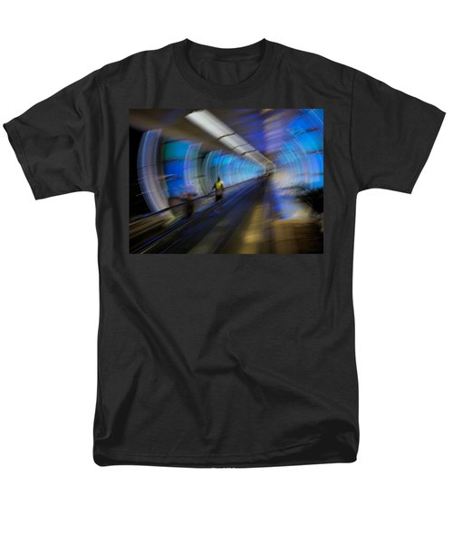 Men's T-Shirt  (Regular Fit) featuring the photograph Quantum Tunneling by Alex Lapidus