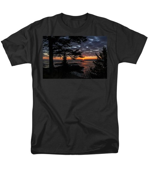 Quoddy Sunrise Men's T-Shirt  (Regular Fit) by Marty Saccone