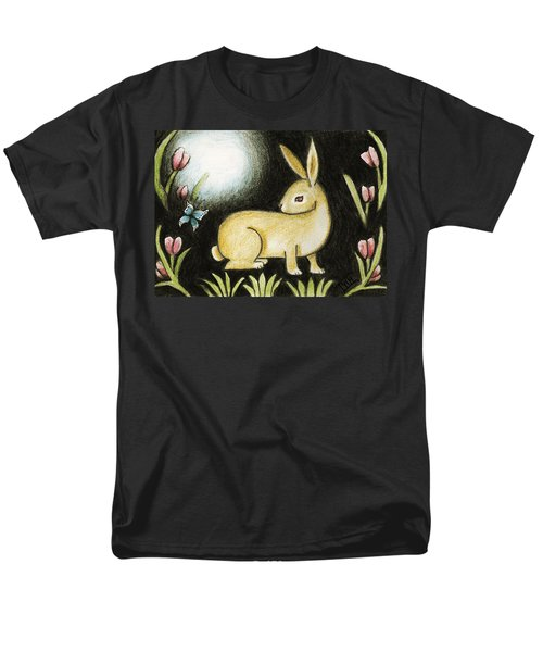 Rabbit And The Butterfly . . . From The Tapestry Series Men's T-Shirt  (Regular Fit) by Terry Webb Harshman