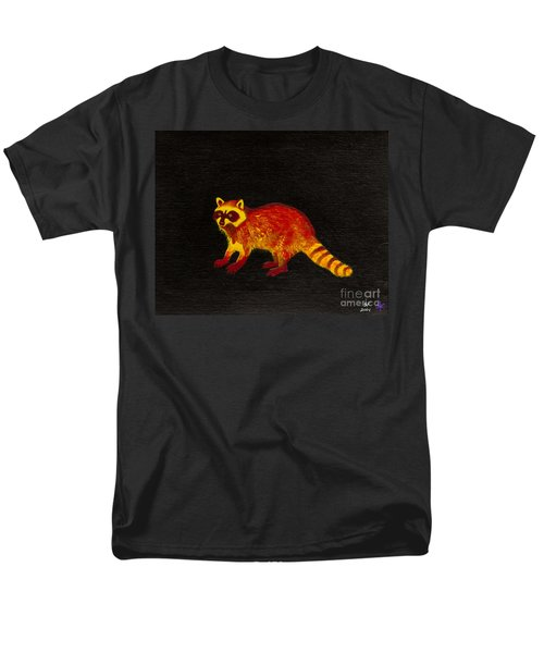 Raccoon Men's T-Shirt  (Regular Fit) by Stefanie Forck