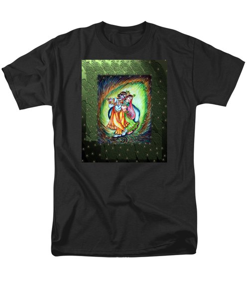 Radha Krishna Men's T-Shirt  (Regular Fit) by Harsh Malik