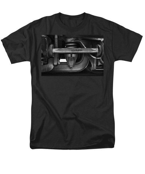 Men's T-Shirt  (Regular Fit) featuring the photograph Rail Detail by John Hansen