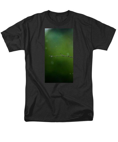 Rain Bokeh Men's T-Shirt  (Regular Fit) by Shelby  Young