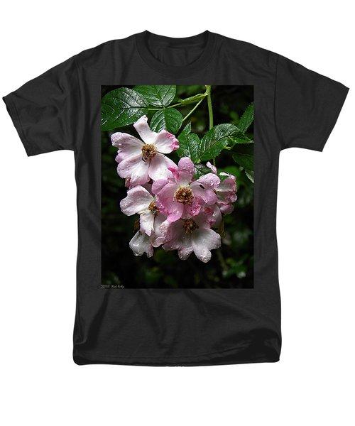 Rain Soaked Rose Men's T-Shirt  (Regular Fit) by Nick Kirby