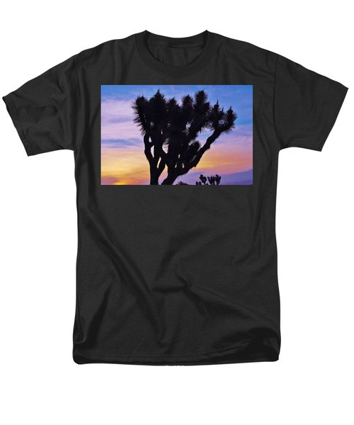 Rainbow Yucca Men's T-Shirt  (Regular Fit) by Angela J Wright