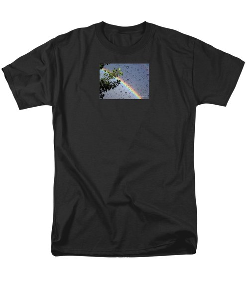 Men's T-Shirt  (Regular Fit) featuring the photograph Raindrops by Janice Westerberg