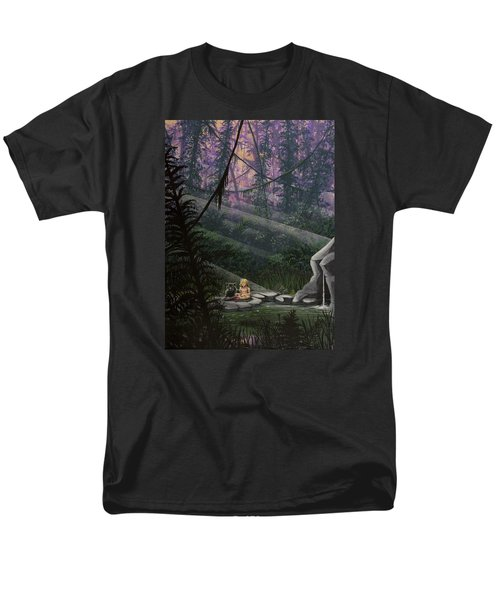 Rainforest Mysteries Men's T-Shirt  (Regular Fit) by Jack Malloch