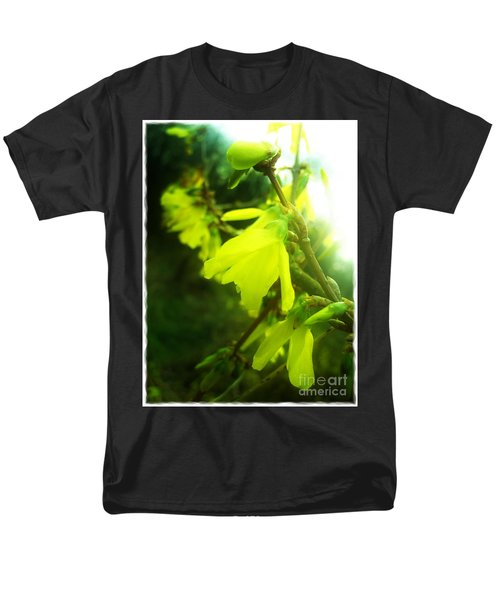 Men's T-Shirt  (Regular Fit) featuring the photograph Rainy Dream by Nina Ficur Feenan