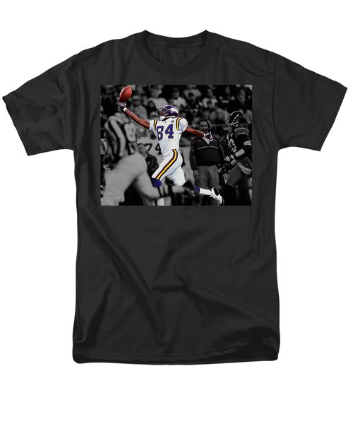 Randy Moss Men's T-Shirt  (Regular Fit) by Brian Reaves