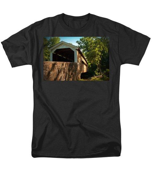 Rapps Covered Bridge Men's T-Shirt  (Regular Fit) by Michael Porchik