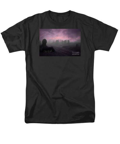 Men's T-Shirt  (Regular Fit) featuring the photograph Rave In The Grave by Terri Waters