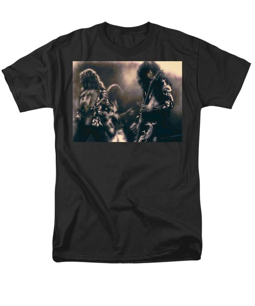 Raw Energy Of Led Zeppelin Men's T-Shirt  (Regular Fit) by Daniel Hagerman