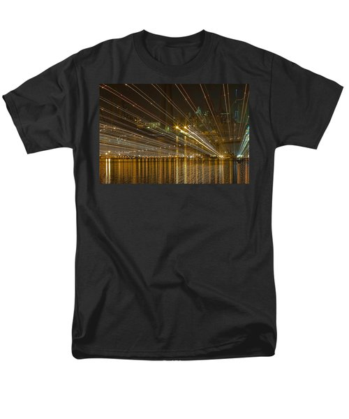 Rays Over The Bay Men's T-Shirt  (Regular Fit) by Gary Holmes