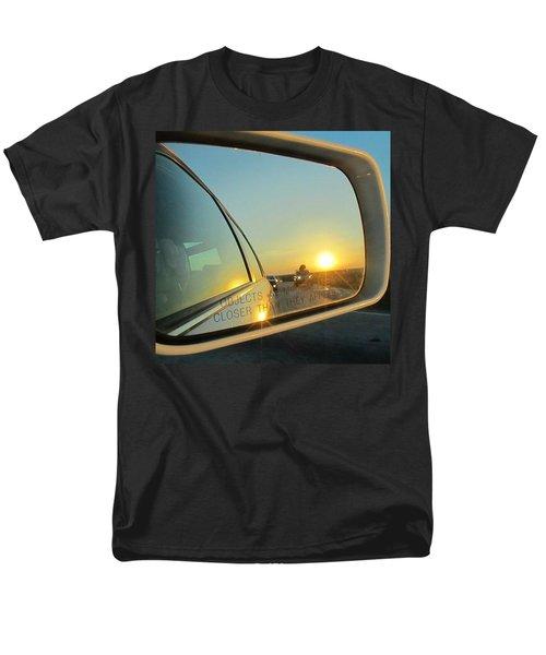 Rear View Sunset Men's T-Shirt  (Regular Fit) by Deborah Lacoste