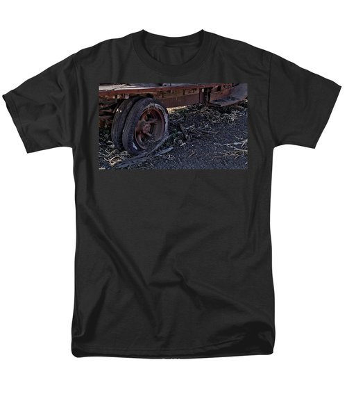 Men's T-Shirt  (Regular Fit) featuring the photograph Rear Wheel Drive by Michael Gordon