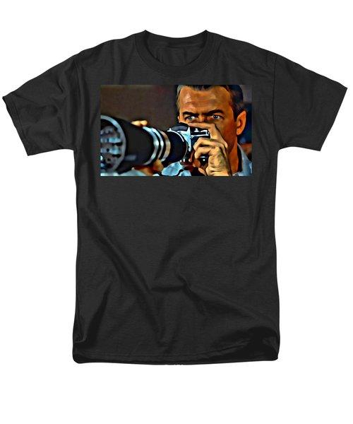 Rear Window Men's T-Shirt  (Regular Fit) by Florian Rodarte