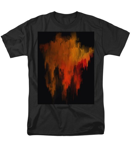 Red And Gold 1 Men's T-Shirt  (Regular Fit) by Michael Pickett