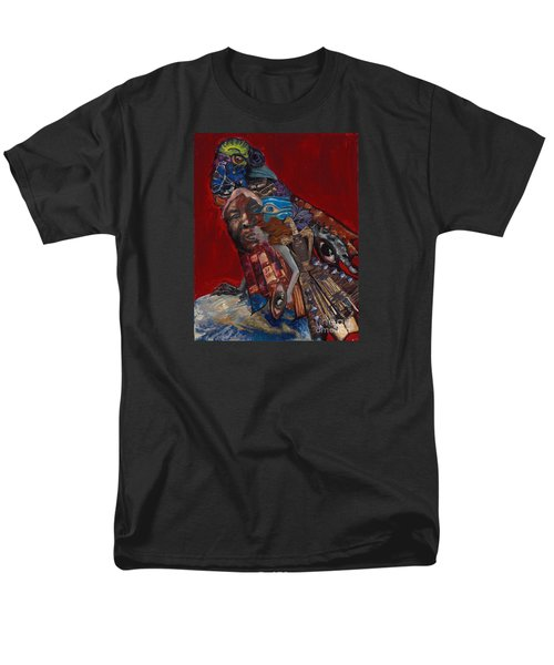 Red Crow Men's T-Shirt  (Regular Fit) by Emily McLaughlin
