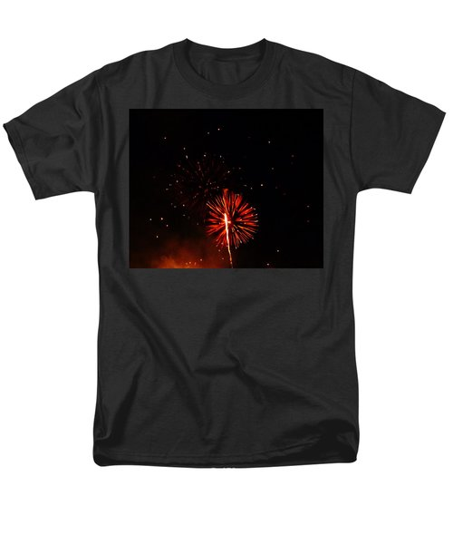 Men's T-Shirt  (Regular Fit) featuring the photograph Red Dahlia by Amar Sheow