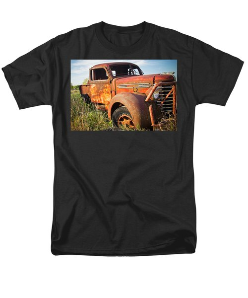 Men's T-Shirt  (Regular Fit) featuring the photograph Red Diamond by Steven Bateson