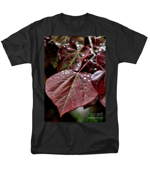 Men's T-Shirt  (Regular Fit) featuring the photograph Red Heart by Peggy Hughes