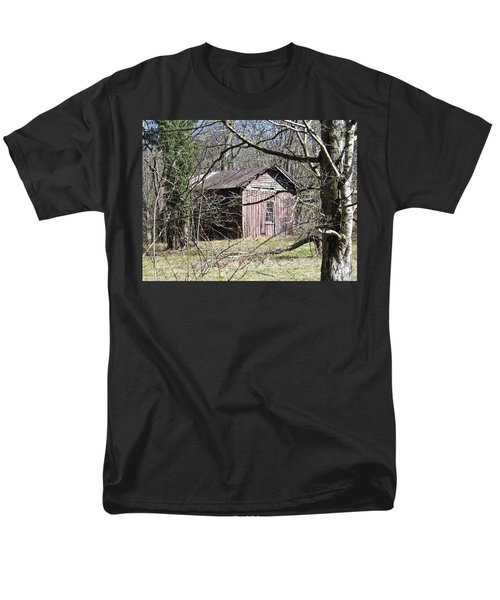Men's T-Shirt  (Regular Fit) featuring the photograph Red House by Nick Kirby