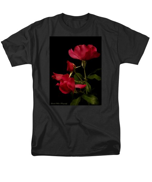 Men's T-Shirt  (Regular Fit) featuring the photograph Red Is For Passion by Lucinda Walter