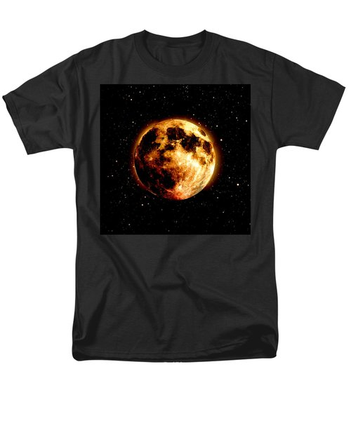 Red Moon Men's T-Shirt  (Regular Fit) by James Barnes