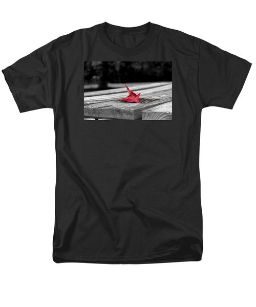 Men's T-Shirt  (Regular Fit) featuring the photograph Red by Rebecca Davis