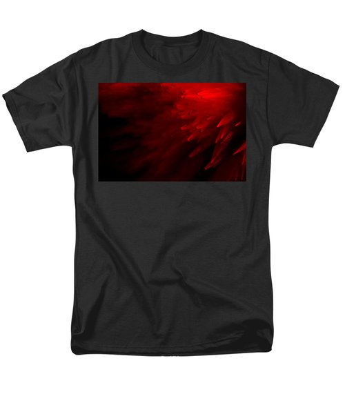 Men's T-Shirt  (Regular Fit) featuring the photograph Red Skies by Dazzle Zazz